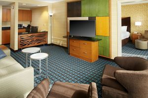 Fairfield Inn & Suites King suite