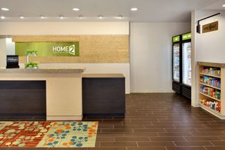 Lobby of Home2 Suites